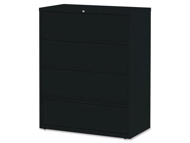 Lorell 43515 Receding Lateral File with Roll Out Shelves