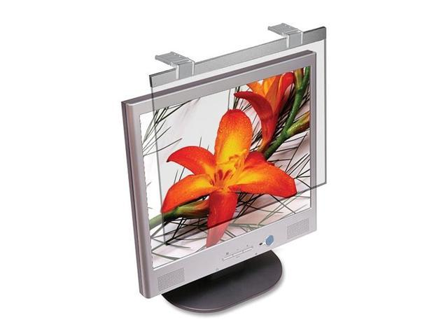 Kantek Protect Deluxe LCD20W Standard Screen Filter Silver 20