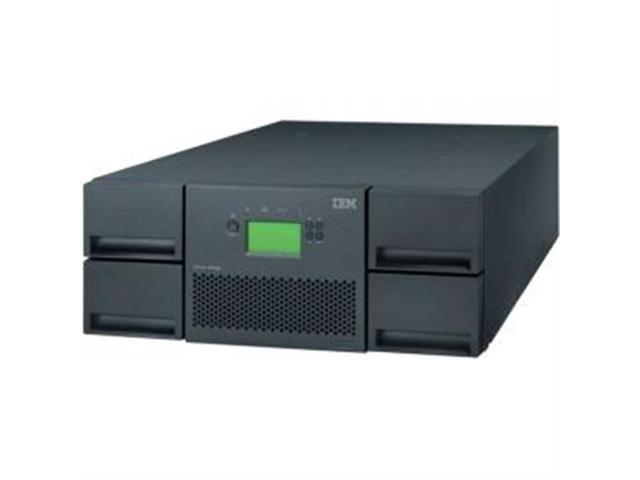 IBM 35734UL Raven Black 76.8TB Rack mount LTO Ultrium 4 Tape Library Driveless