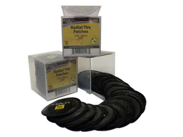 Black Jack Tire Repair RA-552 2 3/8in (60mm) Round Radial Patch