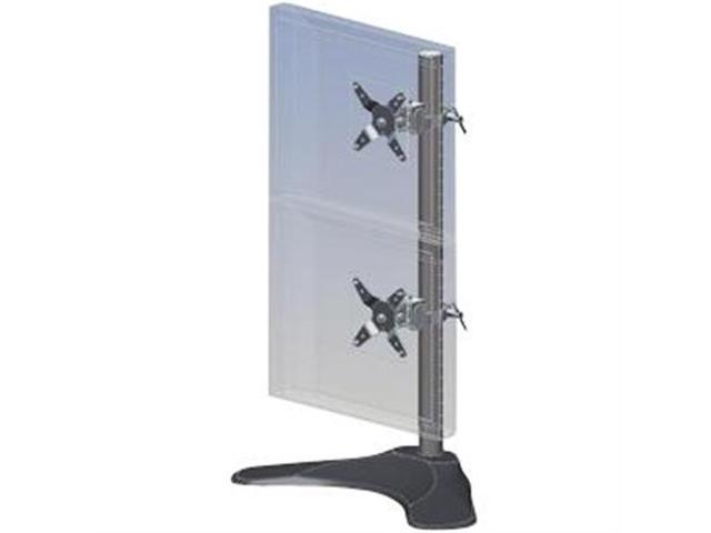 Ergotech Dual Lcd Monitor Desk Stand 28 Quot Pole Black