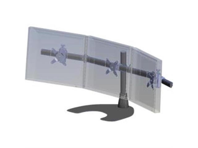 Ergotech Triple Monitor Desk Stand With Telescoping Wings Neweggcom