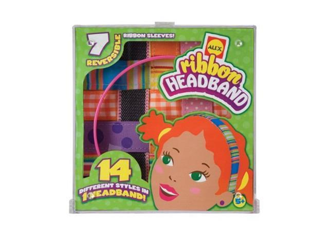 Alex Toys Ribbon Headband Kit with 14 Changeable Ribbons