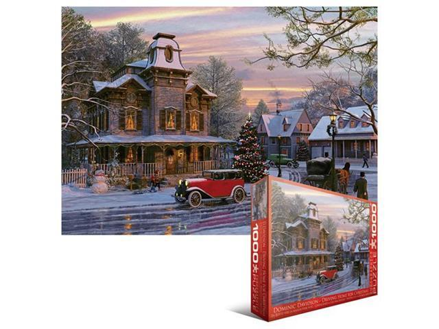 EuroGraphics Driving Home for Christmas 1000-Piece Puzzle