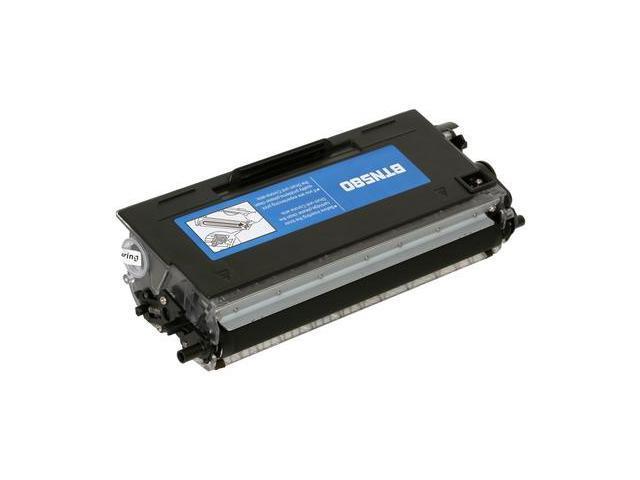 Compatible Black High Yield Toner Cartridge for Brother TN580 DCP-8060, DCP-8065DN, HL-5240, HL-5250DN, HL-5250DNT, HL-5270DN, HL-5280DW, MFC-8460N, MFC-8660DN, MFC-8670DN, MFC-8860DN, MFC-8870DW