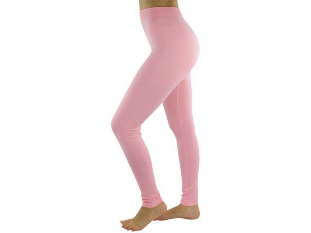 Beautiful Light Pink Full Length Footless Stretch Tights