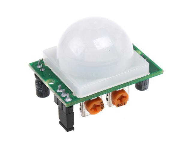 White Pyroelectric Infrared PIR Motion Sensor Detector Module
