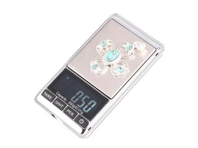 New 300g x 0.01g Mini Digital Jewelry Pocket Gram Scale