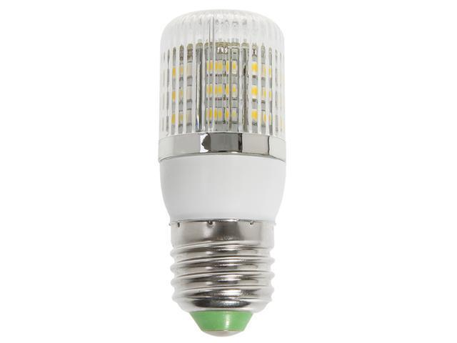 E27 2.5W 48 3528 SMD LED Corn Light Bulb Lamp with Cover Warm White 220V