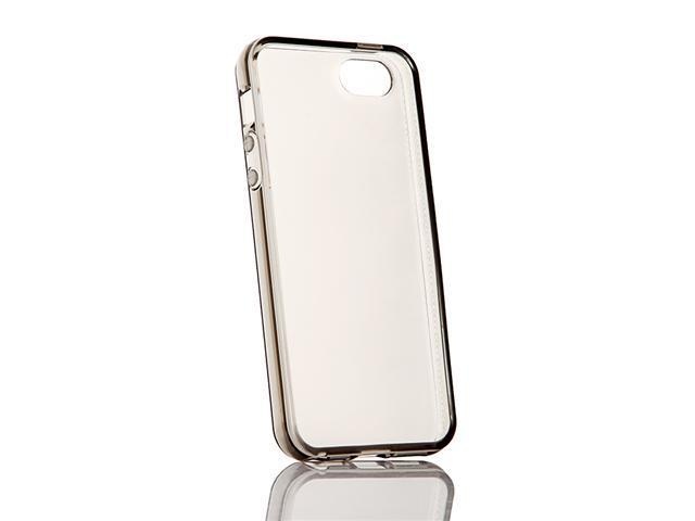 TPU Clear Protective Soft Back Case Skin Cover For Apple iPhone 5 5G 5th Gray