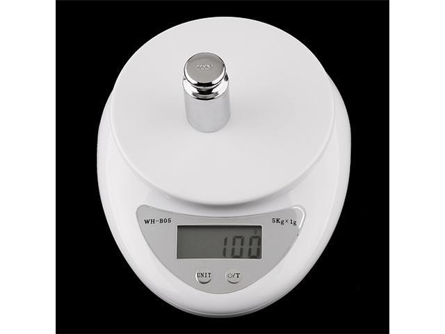 5000g/1g 5kg Digital Kitchen Food Diet Postal Scale