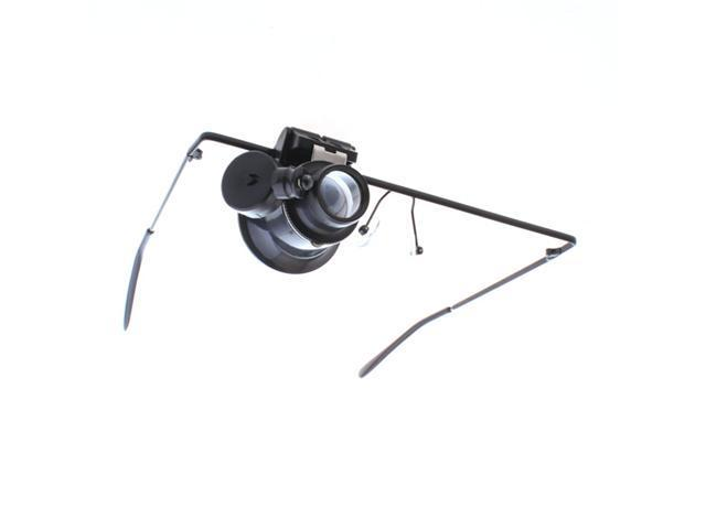 Watch Repair Magnifier Loupe 20X Glass With LED Light