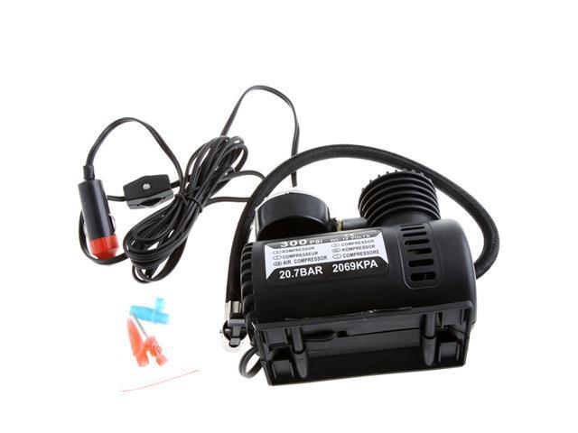 Portable Car/Auto 12V Electric Air Compressor/Tire Inflator 300PSI