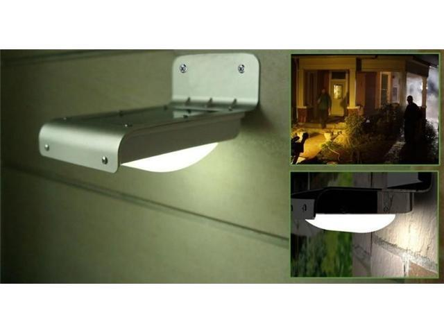 Solar Motion Sensor 16 LED Home Security Light Lamp Outdoor Garden