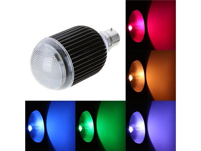 Isunroad B22 10W 650LM LED RGB Light 2 Million Color Changing Voice Music Control High Power Energy Saving Bulb Lamp with ...