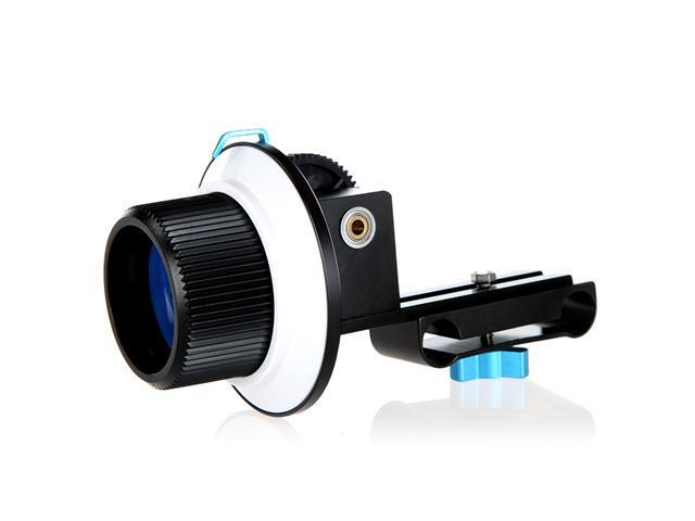 Quick Release Clamp DSLR Follow Focus FF for 15mm Rod Rig 60D 600D 5D2 GH2 D7000