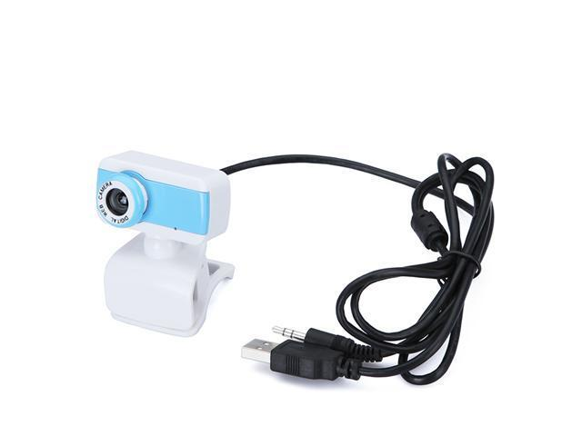 USB 2.0 50.0M HD Webcam Camera Web Cam with MIC for Computer Desktop PC Laptop Blue