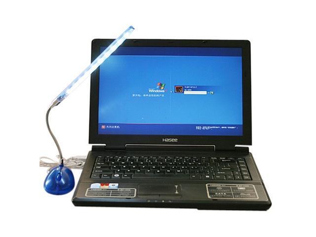 Bright 10 LED Flexible USB Light Desk Lamp for Laptop Desktop ...