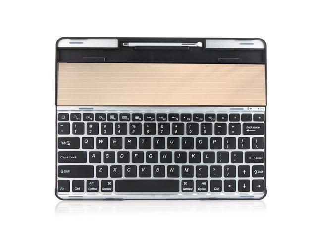 Wireless Solar Bluetooth Keyboard for New iPad 4 2 3 Portable Energy-Saving
