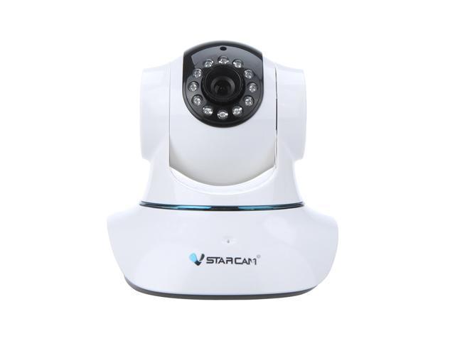 Vstarcam T6835WIP PnP P2P IP Network Camera - Wi-Fi Pan Tilt, IR Cut, Two Way Audio, Micro SD Card Slot, Plug & Play