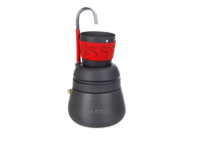 350ml Portable Outdoor Camping Hiking Coffee Maker Pot with 2 Cups