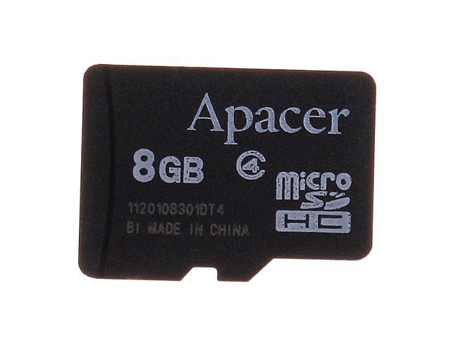 Apacer 8GB Micro SD TF Flash Memory Card Mobile Series