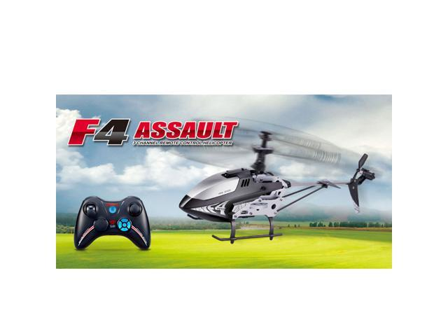 Syma F4 2.4G 3CH RC Remote Control Helicopter with Gyro Searching Light