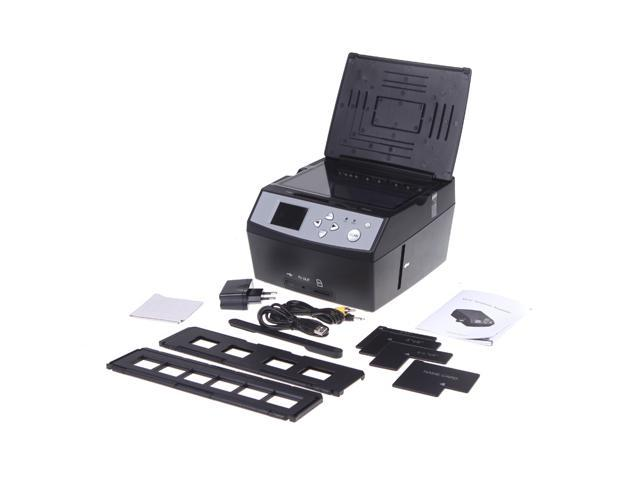 "Multifunction Film Scanner USB MSDC Photo Scanner 2.4"" LCD"