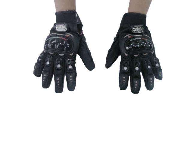 Motorcycle Bike full finger Protective Gloves BLACK-XL