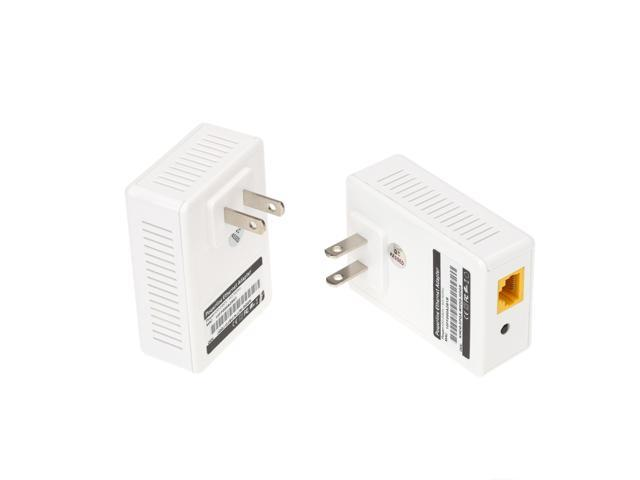 200Mbps Network Extender Homeplug AV Powerline Adapter Kit US Plug (A pair)