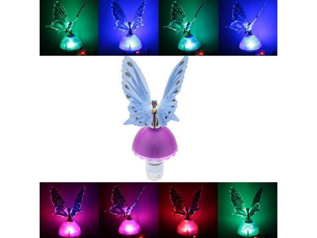 LIXADA RGB Color Changing LED Fiber Optical Light Sensor ...