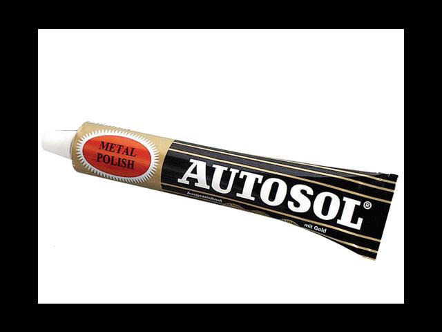 Autosol Brass Aluminum Metal Polish 3.33oz.(75 ml) Tube