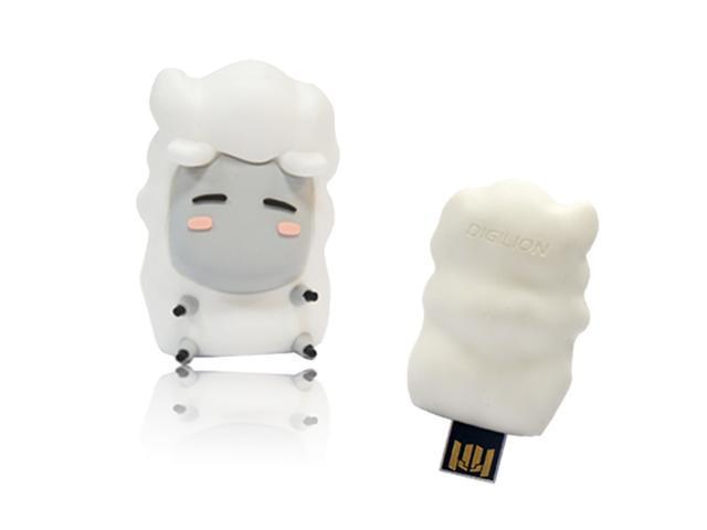 DIGILION minieyes 8GB USB 2.0 PoP-Out Flash Drive (Marcy) Model FGM05A2M30031