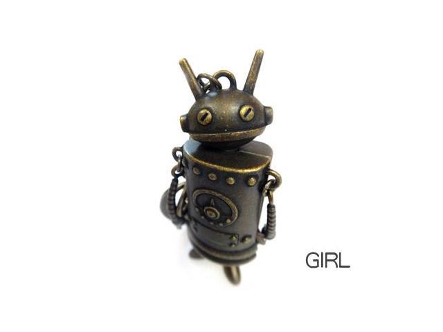 TAPAS Robot  8GB USB 2.0 Flash Drive (Girl) Model FGR09C6I02301