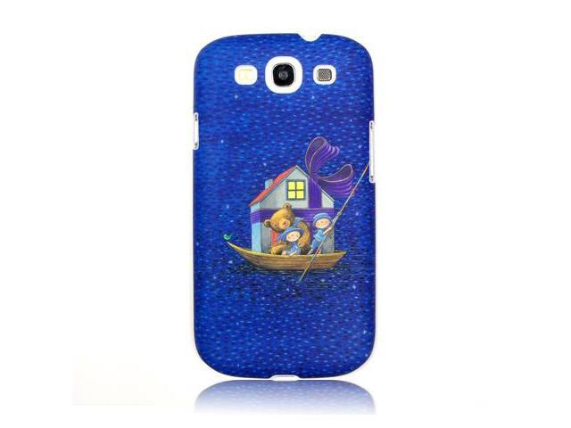 """One more day with you"" by Jimmy Liao Case For Samsung Galaxy S III (bear on boat) FGI08MUI02002"