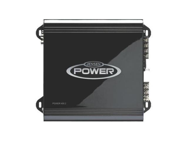 NEW JENSEN POWER4002 400W 2 CH CAR AUDIO AMPLIFIER AMP 2 CHANNEL POWER400.2