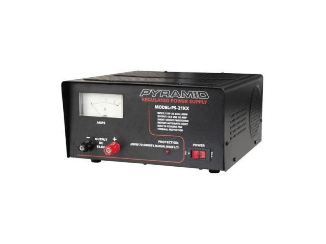 Pyle Ps21kx 20 Amplifier Amp 12 Volt Ac/dc Power Supply