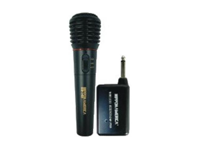 New Nippon Gw750 Professional Wireless Microphone With Mini Receiver