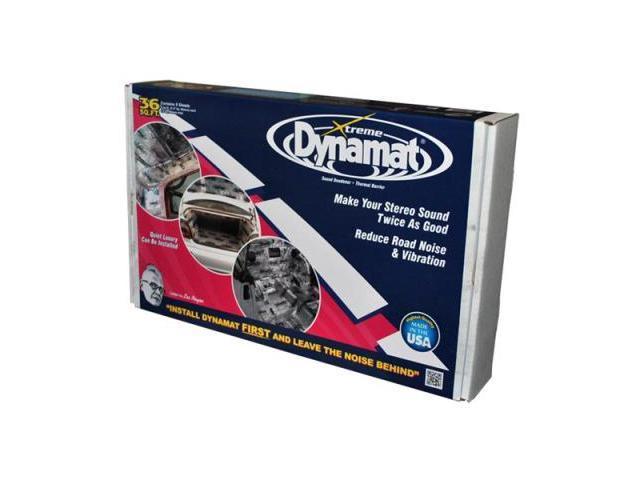 Dynamic Control 10455 Dynamat Xtreme 36 Sq Ft Bulk Pack; 9 Sheets 18x32