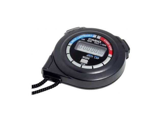 Casio Stopwatch 1/100th second stopwatch Elasped Time