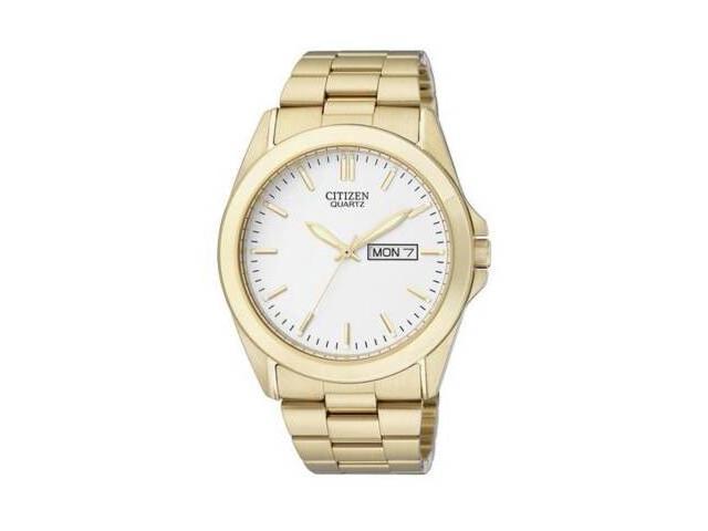 Citizen BF0582-51A Mens Quartz Gold Tone Wrist Watch