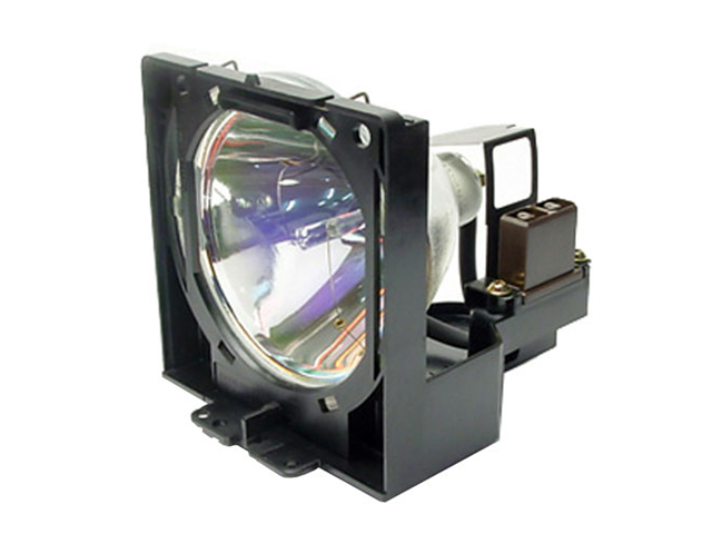 Projector Lamp for Sanyo PLC-XP18N with Housing, Original Philips / Osram Bulb Inside