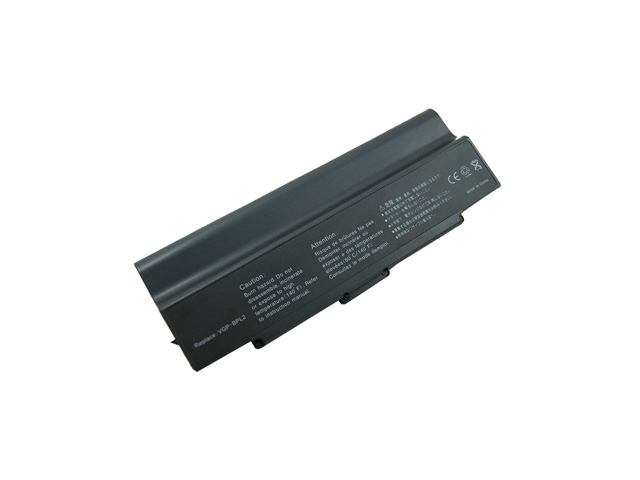Compatible for Sony VAIO VGN N320E/B 12 Cell Battery