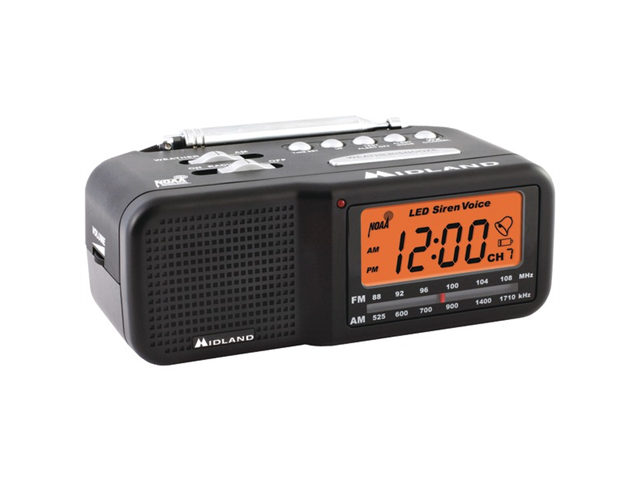 Wood Table Top Radio