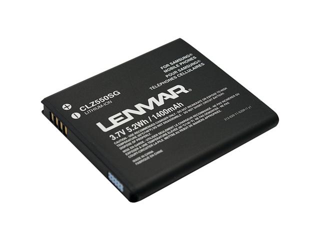 Lenmar Clz550sg Glxy S Ii I727 Rplcnt Bat