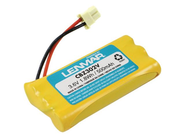 LENMAR CBZ302V Lenmar cbz302v vtech(r) bt5632 & bt5872 replacement battery