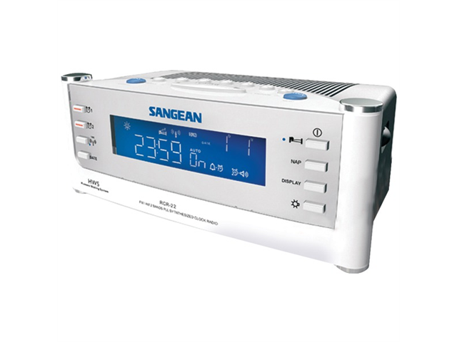 Sangean Rcr22 Am/Fm Atomic Clock Radio