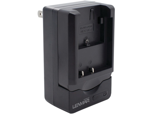 LENMAR CWNPBG1 Lenmar cwnpbg1 camera battery charger for sony(r) np-bg1 & np-fg1