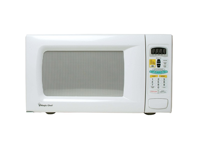 MAGIC CHEF MCD1311W 1.3 Cubic-ft, 1,100-Watt Microwave with Digital Touch (White)