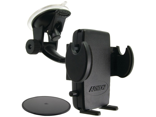 ARKON SM415 TRAVELMOUNT(R) WINDSHIELD/DASHBOARD/CONSOLE MOUNT WITH MEGA GRIP SMARTPHONE HOLDER - SM415